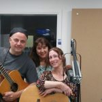 With Lilli Kuzma and Jay Whitehouse at WDCB studios 2017