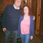 Meeting Peter Noone at Creative Caffeine studio.