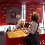 Meeting Emmylou Harris at Borders in Chicago and getting my Steve Goodman book signed